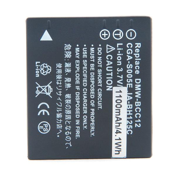Baterías NX 3.7V 1150mAh CGA-S005E CGAS005E CGAS 005E - 18489